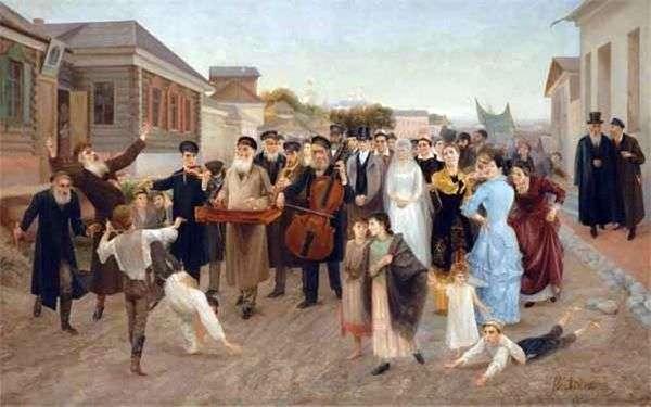 Еврейская свадьба   Исаак Аскназий