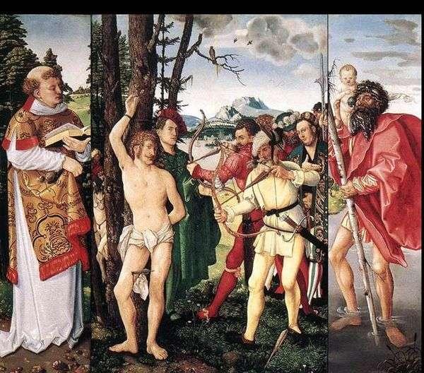 Алтарь святого Себастьяна   Ганс Бальдунг