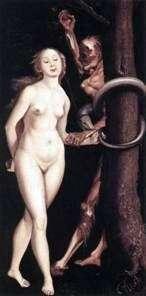 Ева, змея и смерть   Ганс Бальдунг