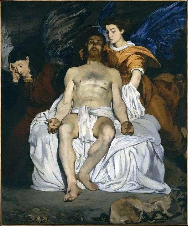 Христос с ангелами   Эдуард Мане