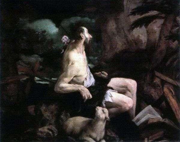 Иоанн Креститель в пустыне   Якопо Бассано