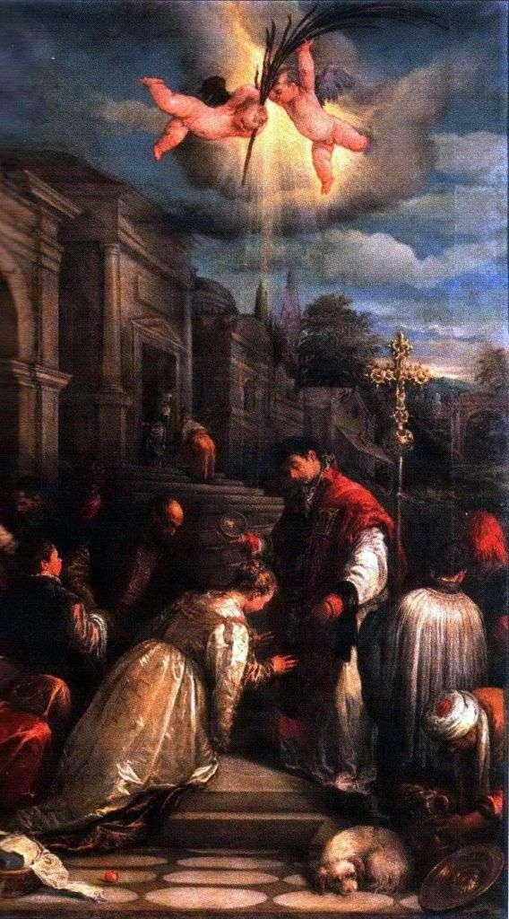 Крещение святого Лучиллы   Якопо Бассано