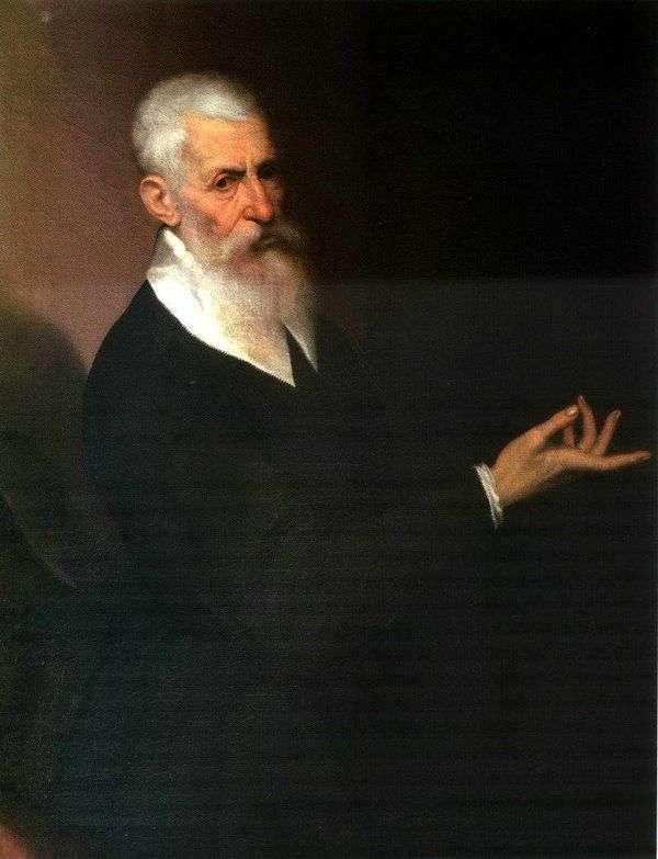 Портрет мужчины   Якопо Бассано