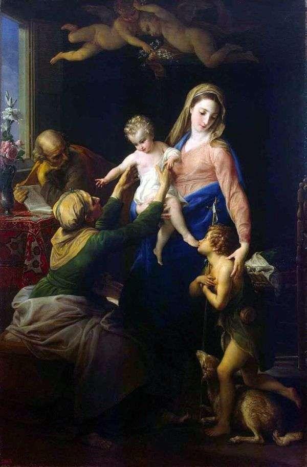 Святое семейство   Помпео Батони