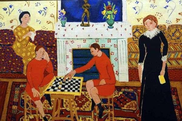 Семейный портрет   Анри Матисс