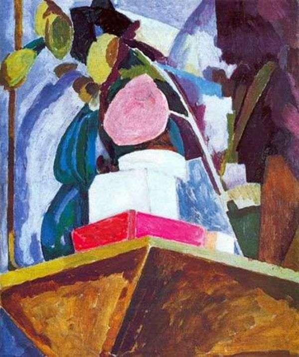Натюрморт на углу каминной полки   Ванесса Белл
