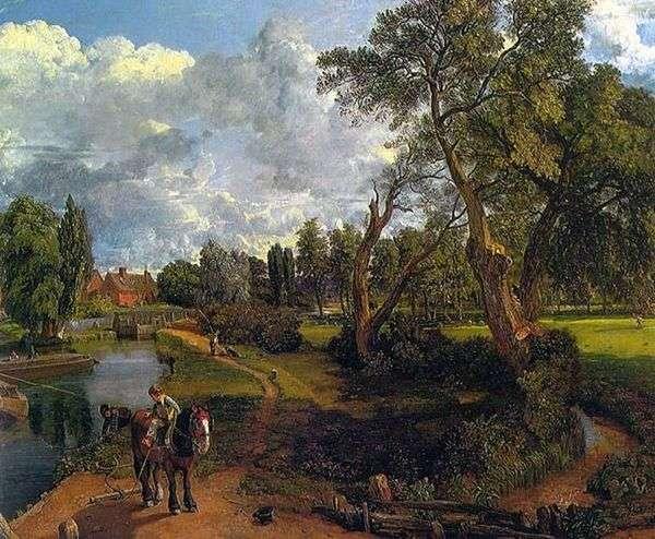 Флэтфордская мельница (Сцена на судоходной реке)   Джон Констебл