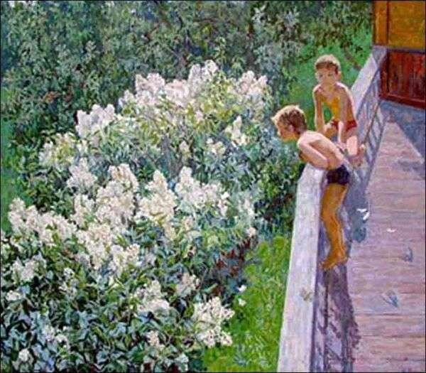 Летний день. Цветет сирень   Майя Копытцева
