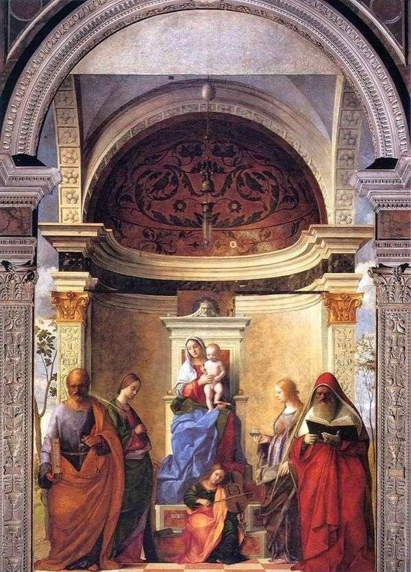 Мадонна с Младенцем и святыми   Джованни Беллини