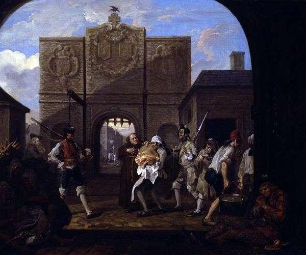 Ворота Кале, или О, ростбиф старой Англии   Уильям Хогарт