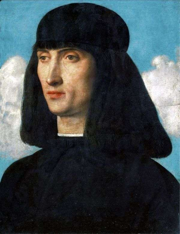 Портрет молодого человека   Джованни Беллини