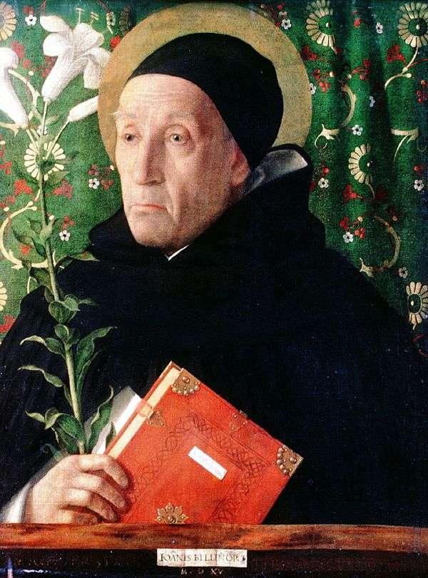 Фра Теодоро Урбинский в образе св. Доминика   Джованни Беллини