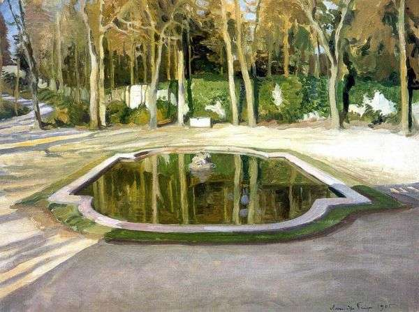 Зеркальце в Трианоне   Александр Бенуа