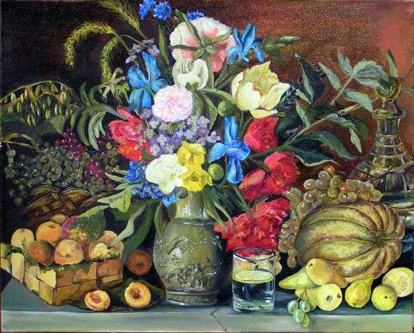 Цветы и плоды   Иван Хруцкий