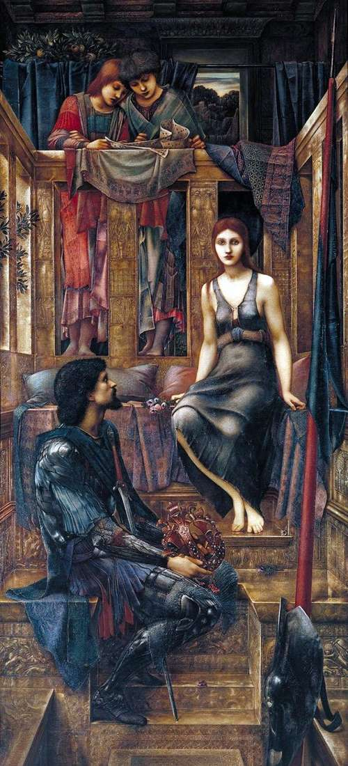 Король Кофетуа и девушка нищенка   Эдвард Берн Джонс
