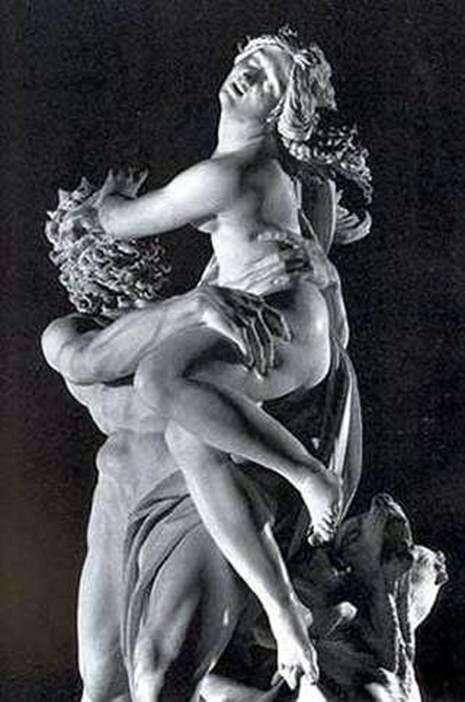 Похищение Прозерпины (фрагмент)   Лоренцо Бернини