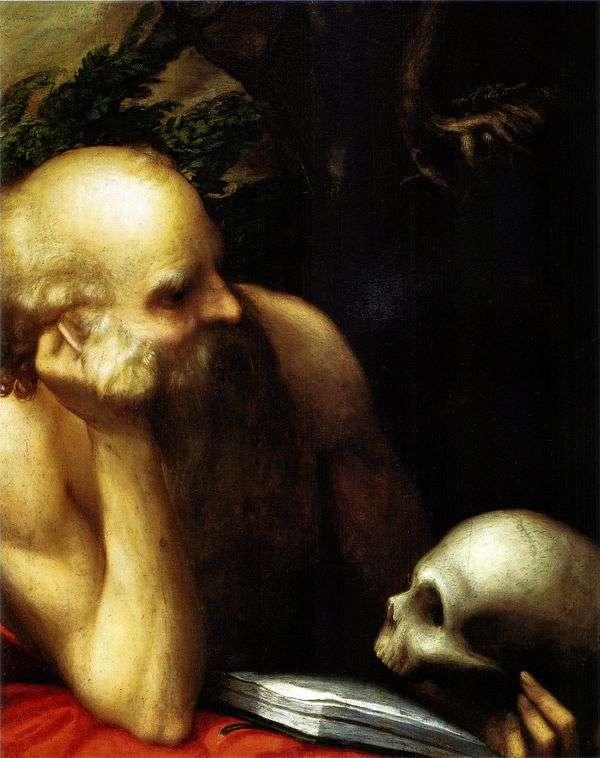 Святой Иероним   Корреджо (Антонио Аллегри)