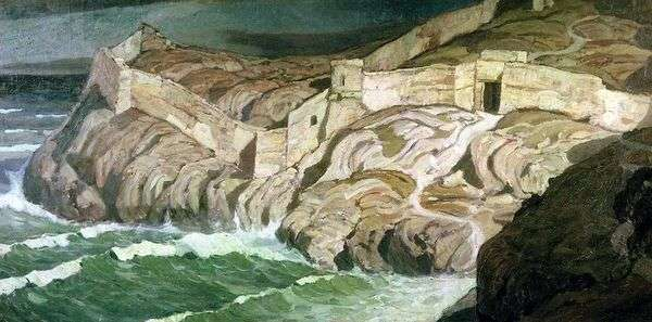 Древняя крепость   Константин Богаевский