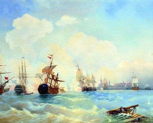 Ревельский бой 2 мая 1790 го   Алексей Боголюбов