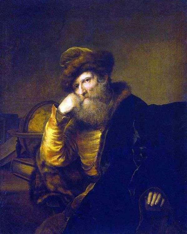 Портрет ученого   Фердинанд Бол