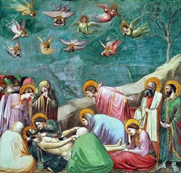 Оплакивание Христа   Джотто ди Бондоне