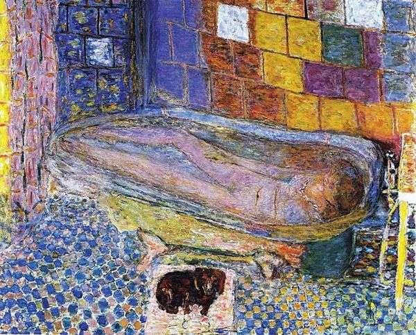 Дама с собачкой в ванне   Пьер Боннар