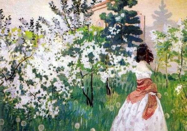 Весна   Виктор Борисов Мусатов
