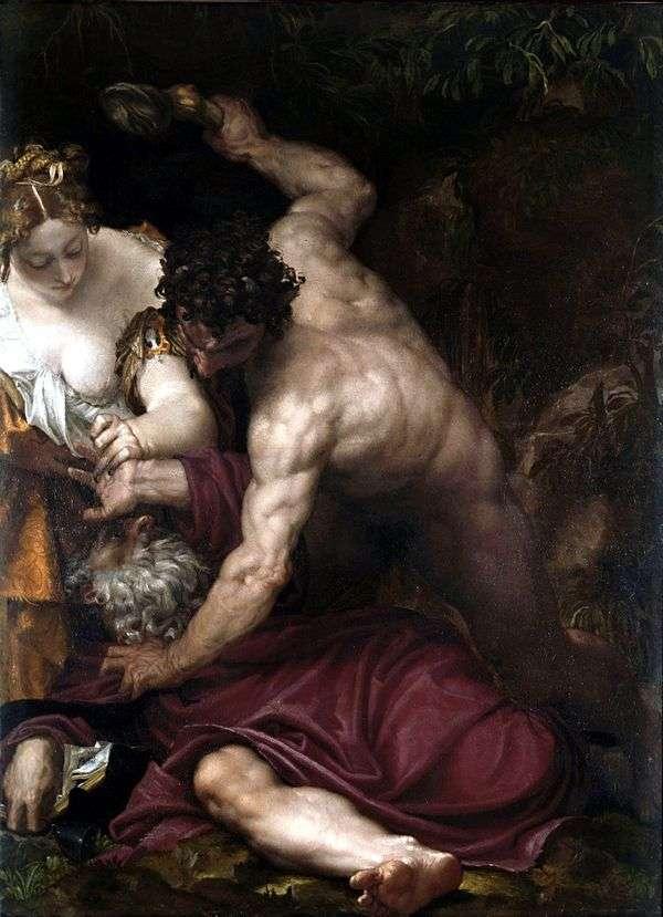 Искушение святого Антония   Паоло Веронезе