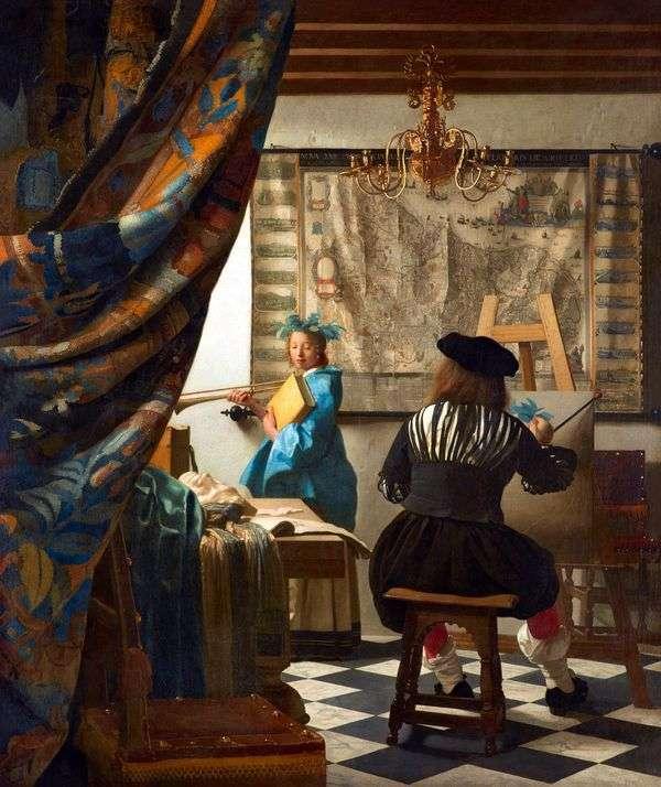 Искусство живописи   Ян Вермеер