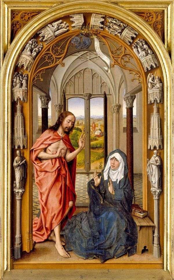 Явление Христа Марии   Хуан де Фландес