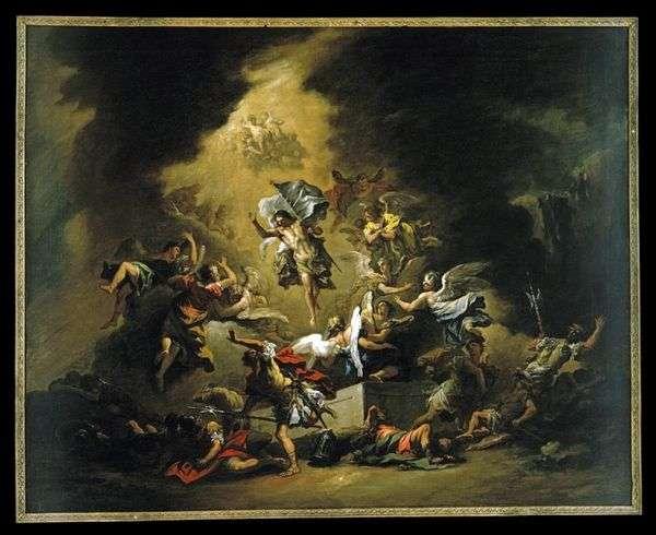 Явление Христа с ангелами   Себастьяно Риччи