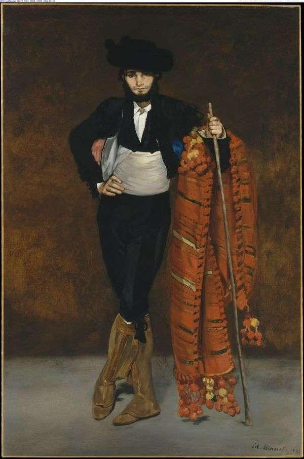 Юноша в костюме мачо   Эдуард Мане