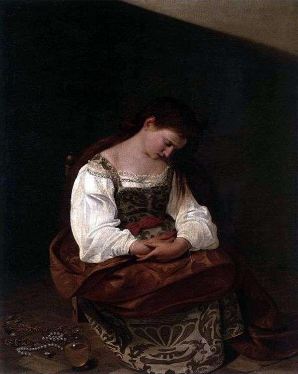 Кающаяся Магдалина   Микеланджело Меризи да Караваджо