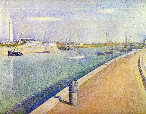 Канал в Гравелине. Малый порт Филипп   Жорж Сера