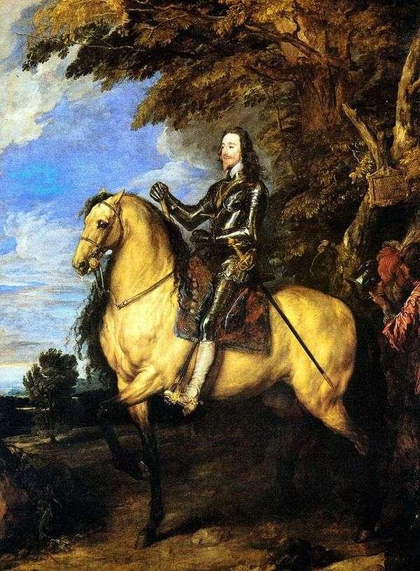 Конный портрет Карла I   Энтони Ван Дейк