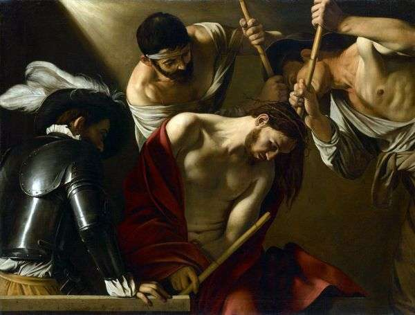 Коронование терновым венцом   Микеланджело Меризи да Караваджо