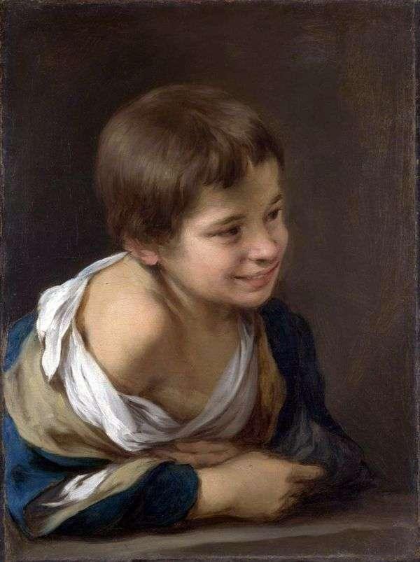 Крестьянский мальчик   Бартоломе Эстебан Мурильо