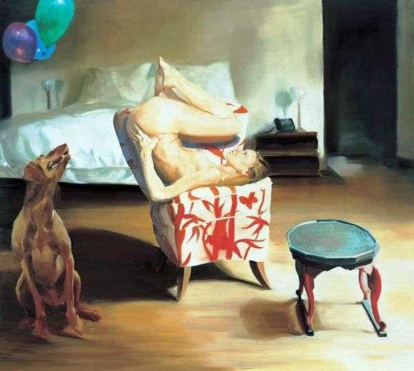 Кровать, стул, ожидание   Эрик Фишл
