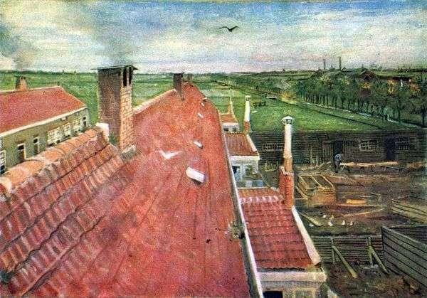Крыши. Вид из мастерской   Винсент Ван Гог