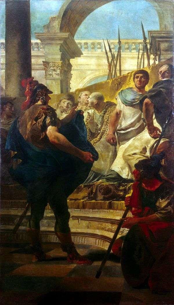 Квинт Фабий Максим в Сенате Карфагена   Джованни Баттиста Тьеполо