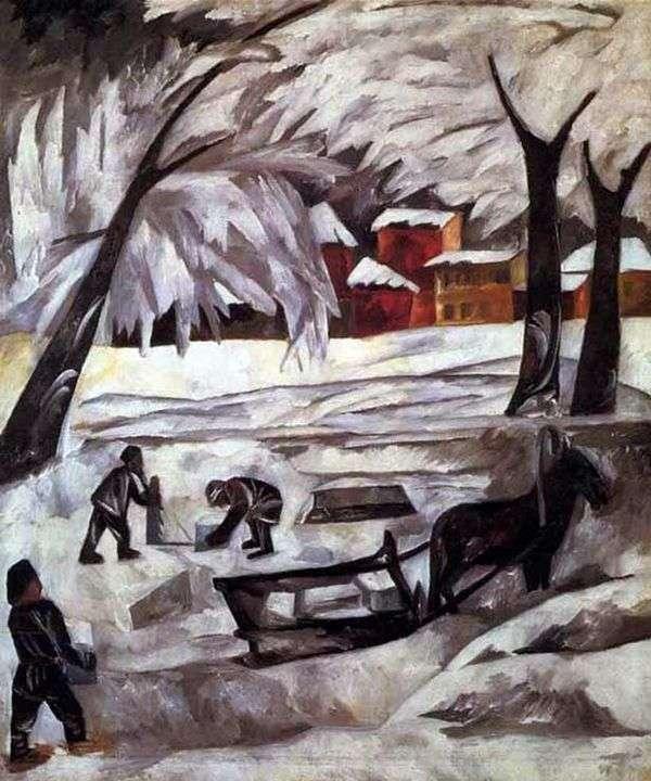 Ледяные скульптуры   Наталья Гончарова