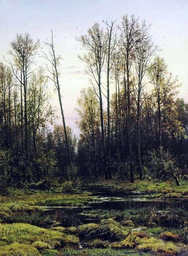 Лес весной   Иван Шишкин