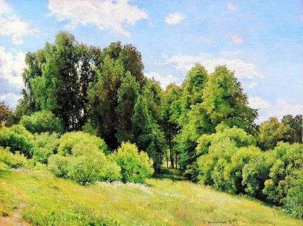 Лесная поляна (Полянка)   Иван Шишкин