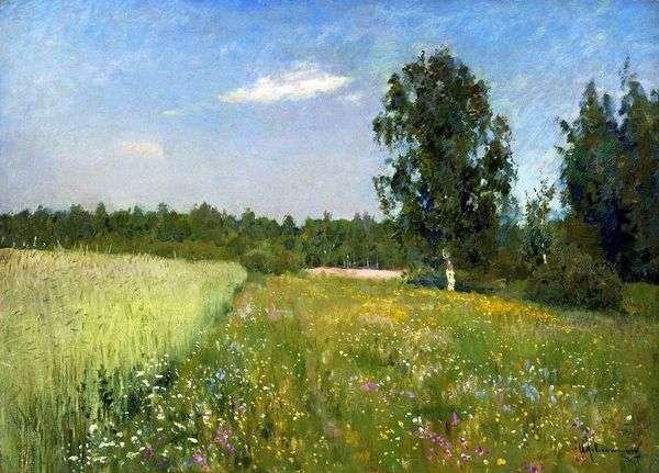 Лето (Июньский день) — Исаак Левитан 🍀 | Сочинение по картине, описание