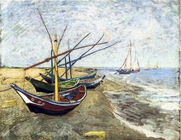 Лодки в Сен Мари   Винсент Ван Гог