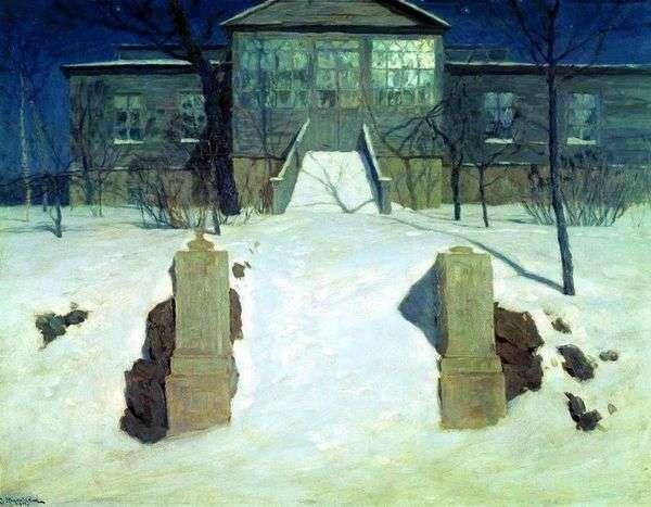 Лунная ночь   Станислав Жуковский