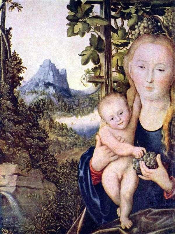 Мадонна с Младенцем   Лукас Кранах