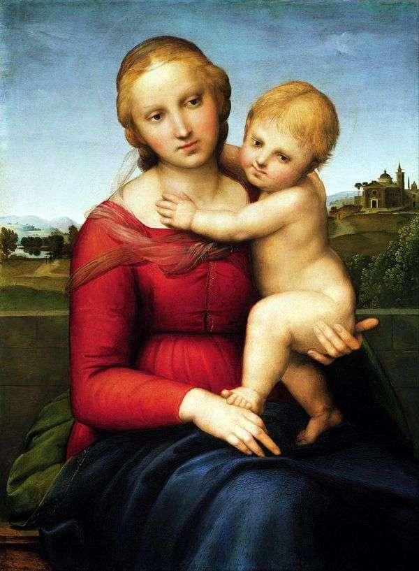 Мадонна с младенцем   Рафаэль Санти