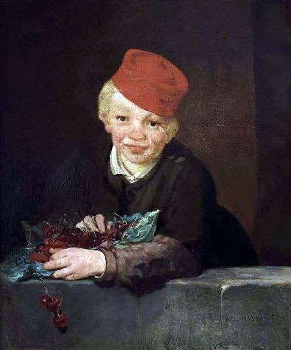 Мальчик с вишнями   Эдуард Мане