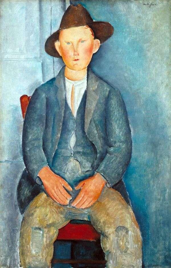 Маленький крестьянин   Амедео Модильяни